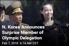 Member of Kim Dynasty to Enter S. Korea for First Time