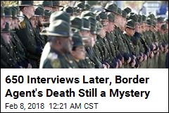 FBI Says There Is No Evidence Border Patrol Agent Murdered