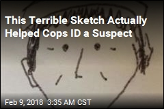 This Sketch Actually Helped Cops ID a Suspect