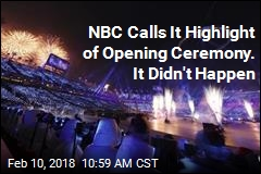 Drones Grounded at Opening Ceremony, But Not on NBC