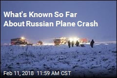 What's Known So Far About Russian Plane Crash