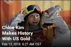 'American Dream': Chloe Kim Takes Gold