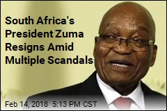 South Africa's President Zuma Resigns Amid Multiple Scandals