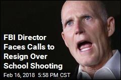 Florida Gov: FBI Director Should Resign Over School Shooting