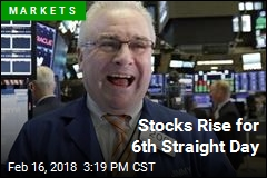 Stocks Rise for 6th Straight Day