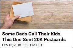 How This Dad Shows His Kids He Loves Them: 20K Postcards