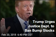 Trump Urges Justice Dept. to Ban Bump Stocks