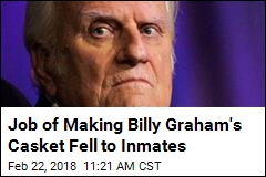 Billy Graham to Be Buried in Inmate-Made Casket