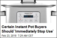 Your Instant Pot May Carry Risk of Overheating, Melting