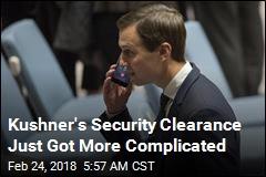 Trump: I Won't Intervene on Kushner's Security Clearance
