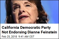 California Democratic Party Not Endorsing Dianne Feinstein