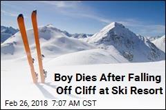 Boy Dies After Falling Off Cliff at Ski Resort