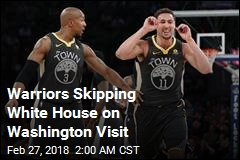 Warriors Skipping White House on Washington Visit