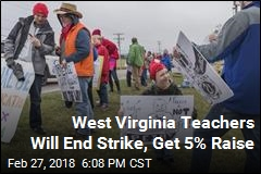 West Virginia Teachers Will End Strike Thursday