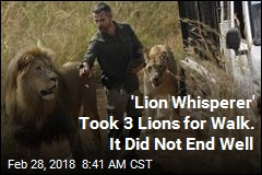 Lion Kills Woman at Camp Run by the 'Lion Whisperer'