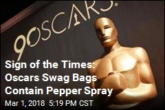 In This Year's Oscars Swag Bags: Pepper Spray
