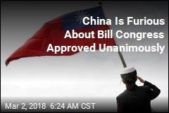 China Warns US-Taiwan Bill Could Trigger War