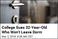 College Sues 32-Year-Old Who Won't Leave Dorm