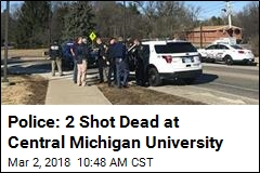 Police: 2 Shot Dead at Central Michigan University