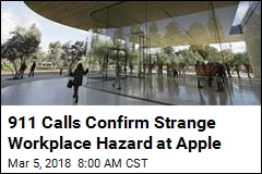 Life at Apple, Via 911 Calls: 'Um, I Walked Into a Glass Door'