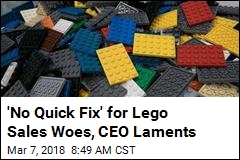 Lego's Reason for Limp Sales: Too Many Legos