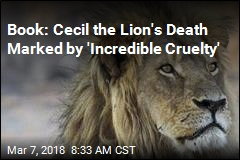 New Book Details Cecil the Lion's Brutal Death