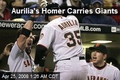 Aurilia's Homer Carries Giants