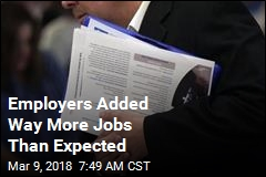 Hiring Surges in February, but Wages Fizzle