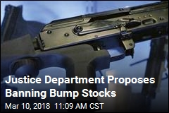 Justice Department Proposes Banning Bump Stocks