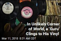 Meet Kenyan 'Guru' Who Keeps Vinyl Spinning