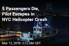 5 Killed in NYC Helicopter Crash