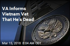 VA Informs Vietnam Vet That He's Dead