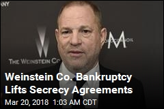 Weinstein Bankruptcy Lifts Secrecy Agreements