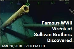 Sunken WWII Ship Famous for Sullivan Brothers Is Found