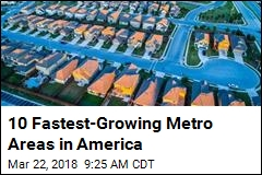 10 Fastest-Growing Metro Areas in America