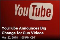 YouTube Announces Big Change for Gun Videos