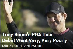 Tony Romo's PGA Tour Debut Went Very, Very Poorly