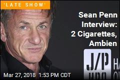 Sean Penn to Colbert: My Ambien Hasn't Worn Off
