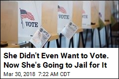 Felon's 2016 Vote Just Earned Her 5 Years in Prison