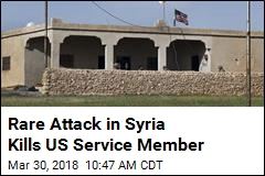 US Troop Killed in Surprise Syrian Bomb Attack