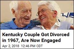 Kentucky Couple Got Divorced in 1967, Are Now Engaged
