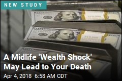 Study: Those Who Saw Wealth Vanish More Likely to Die