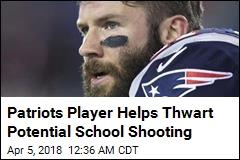 Patriots Player Helps Thwart Potential School Shooting