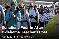 Donations Pour In After Oklahoma Teacher's Post