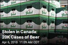 Thieves in Canada Nab $400K in Beer, Pepperoni