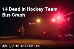 14 Dead in Hockey Team Bus Crash