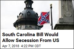South Carolina Mulls Secession From US Over Gun Rights
