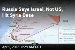 Russia Blames Israel for Strike on Syria Base