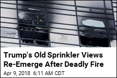 As a Developer, Trump Fought Tough Sprinkler Law