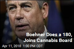 Boehner Does a 180, Joins Cannabis Board